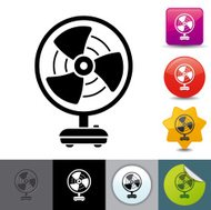 Electric fan icon | solicosi series