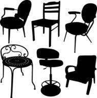 Chair Silhouette Collection