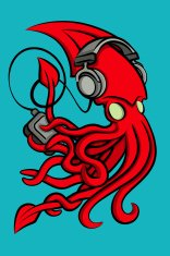 Headphone Squid