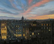 Rome in The Light of Sunset