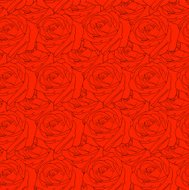 Seamless  background with flower roses