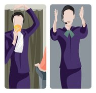Service Worker Illustrations Series