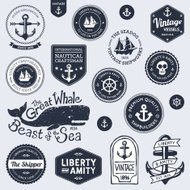 Vintage nautical designs