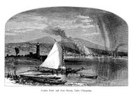 Crown Point and Port Henry, New York | Historic Illustrations