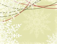 Snowflake Textured Christmas Background