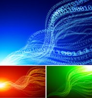 Abstract binary backgrounds