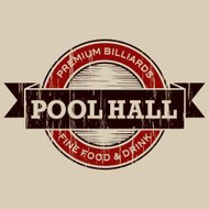 Vintage Pool Hall Label