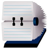 Rolodex with blank cards