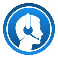 Headset Contact Icon