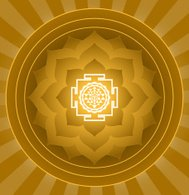 Spiritual Lotus Sri Yantra Design