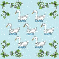 The Twelve days Of Christmas Series. Seven Swans a Swimming
