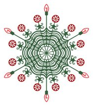 Christmas Light Snowflake