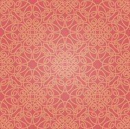 Seamless abstract red and orange pattern with gradient