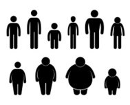 Man Body Figure Size Pictogram
