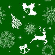 Seamless holiday background