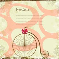 Letter to Santa background