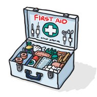 First Aid Kit Sketch