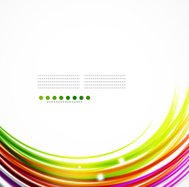 Shiny rainbow colored vector background