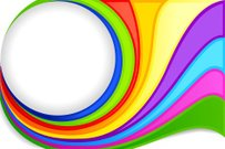 Colorful Swirly Background