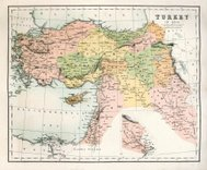 Antique Map of Turkey