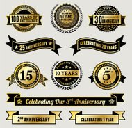 Golden Anniversary Badge Collection