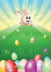 The Easter Bunny and His Loot