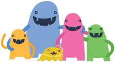 Happy Ideal Monster Family