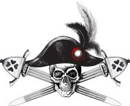 skull and two crossed swords