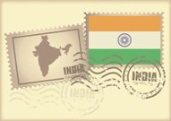 postage stamp India