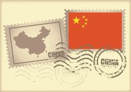 postage stamp China