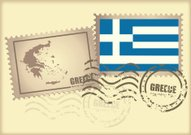 postage stamp Greece