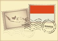 postage stamp Indonesia