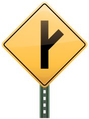 intersection Road Sign