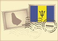 postage stamp Barbados