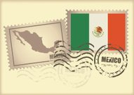 postage stamp Mexico