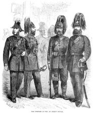 Uniform of the 1st Surrey Rifles