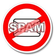 Warning Sticker | No Spam