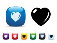 Love Heart Icon Set