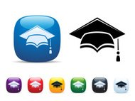 Mortar Board Icon Set