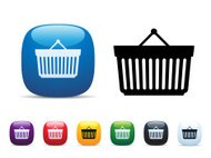 Shopping Basket Icon Set