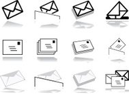 Mailing icon collection