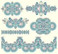ornamental symmetry design element