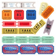 Set of Movie Tickets