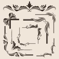 Decorative Frame Vector Set
