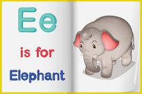 Elephant in a book
