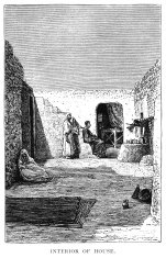 Traditional old Tunisian house (Victorian illustration)