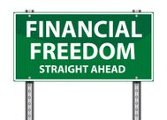 Road Sign | Financial Freedom