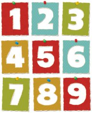 Torn Paper Numbers