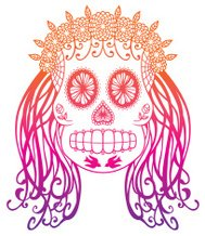 Day of the Dead Marigold Queen