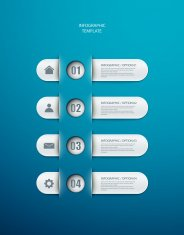 infographics options layout